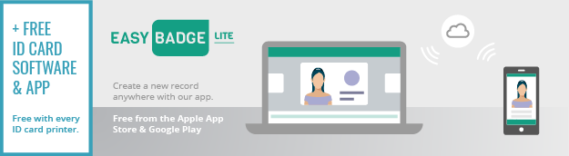 free dual sided upgrade and easybadge lite